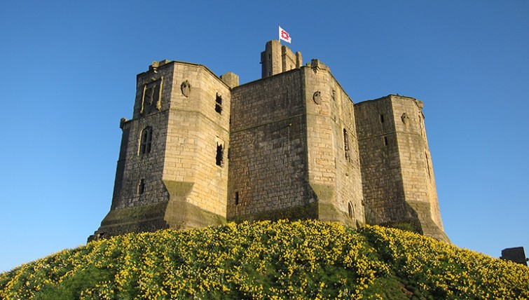 Warkworth Castle Northumberland Grey Mares Tail