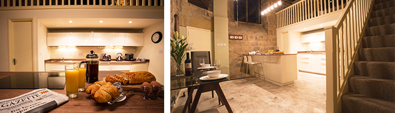 luxury holiday accommodation at pottergate tower, harry potter alnwick