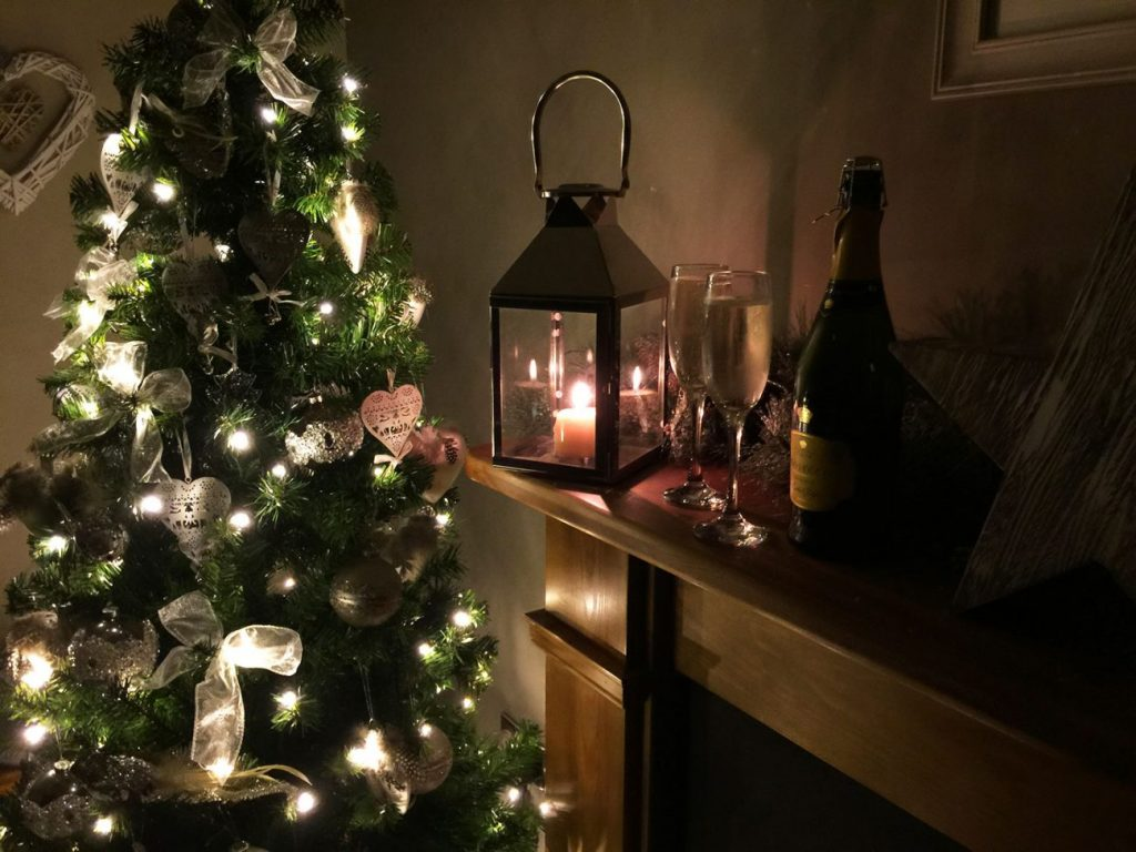 Christmas holiday cottage in Northumberland