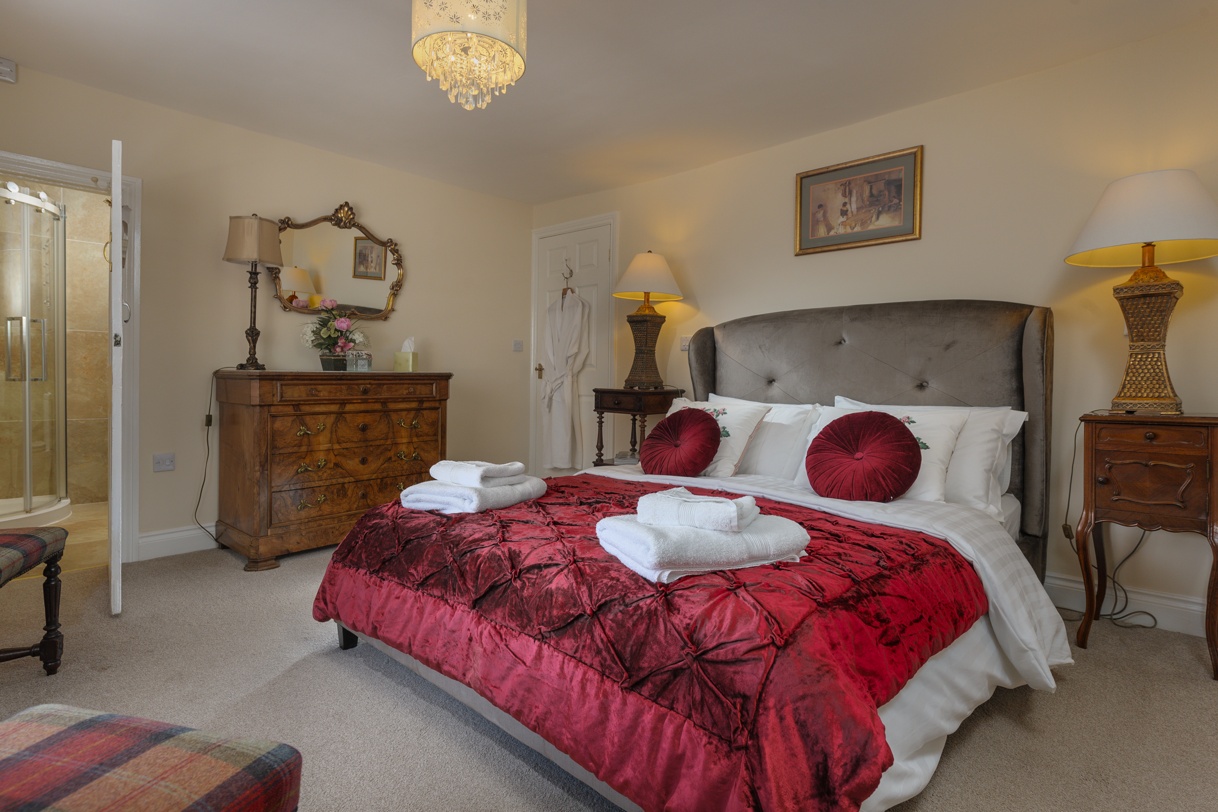 luxury family sized holiday cottage in Warkworth Northumberland near the beach 5 star pets welcome