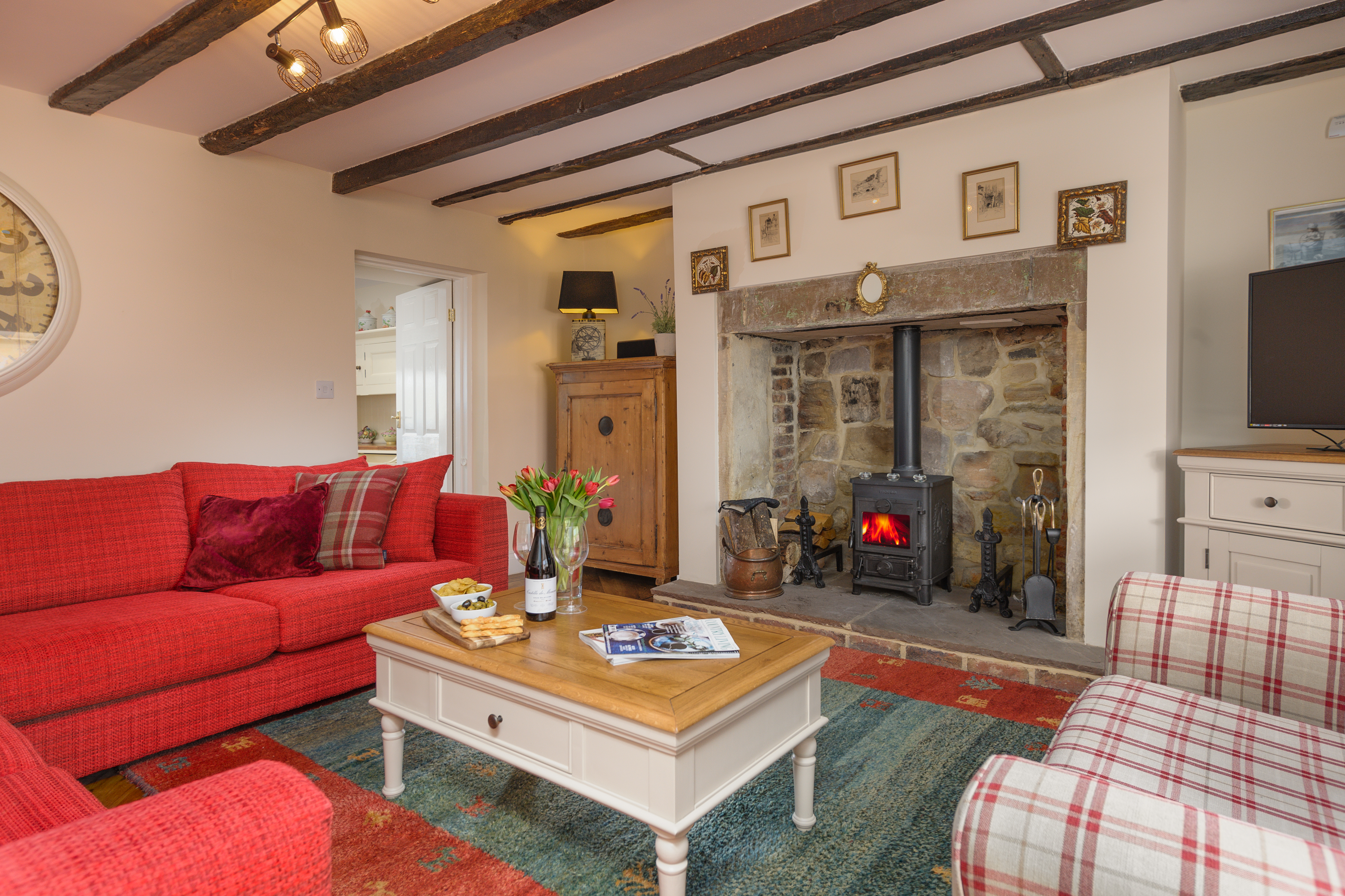 high end luxury holiday cottage in Warkworth Northumberland