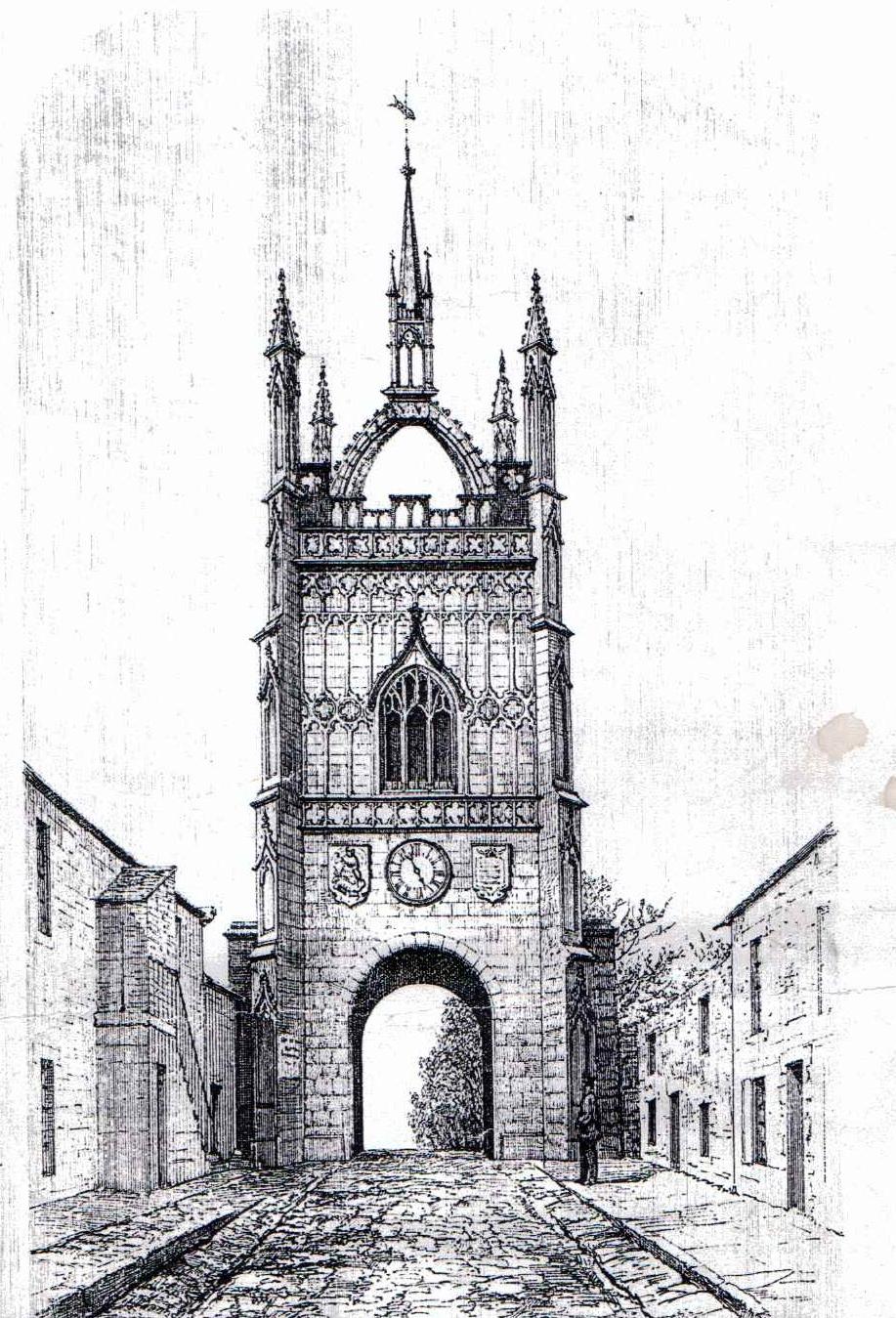 Pottergate Tower Alnwick