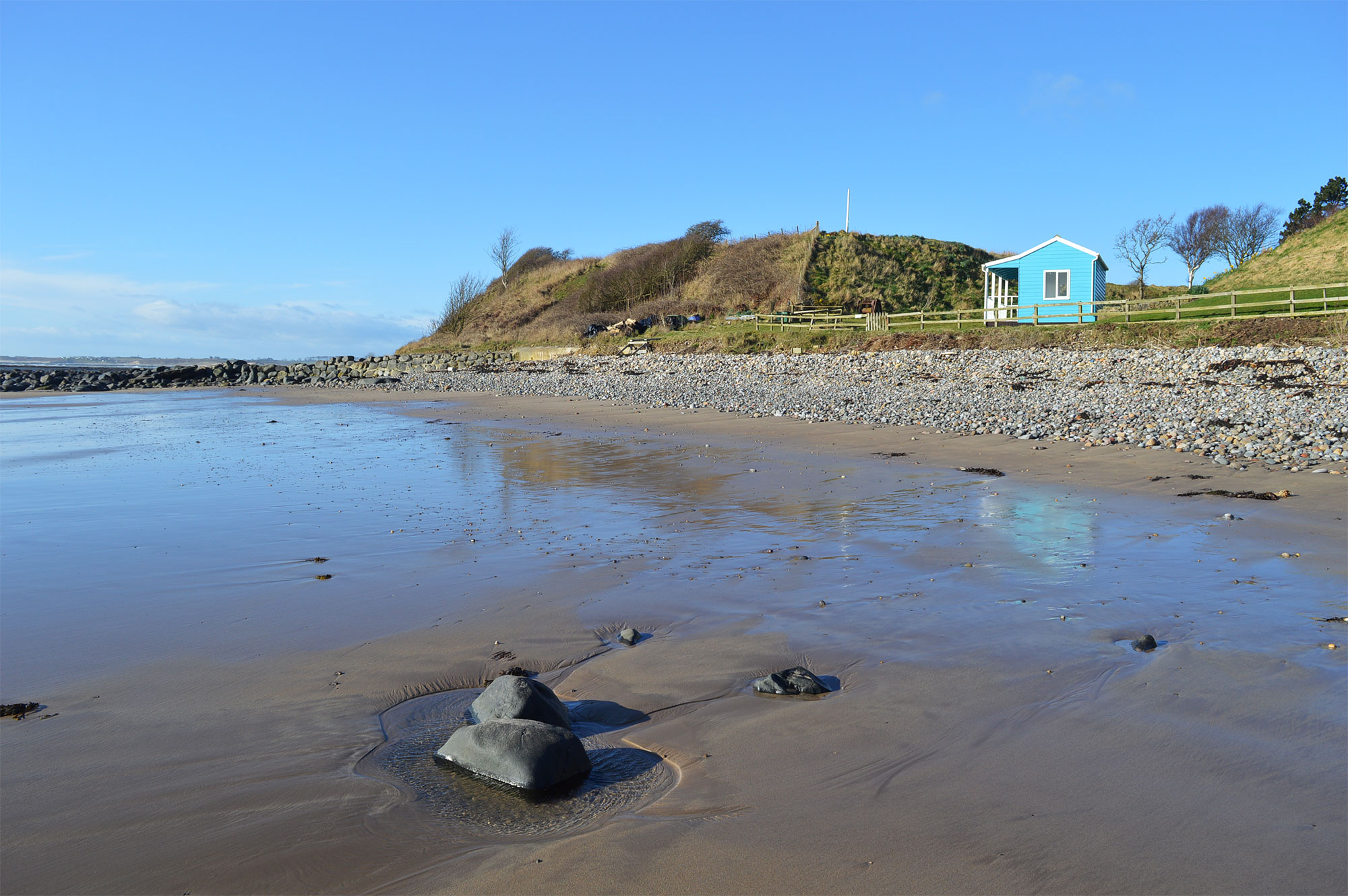 Boulmer Haven Beach, best beaches in the UK