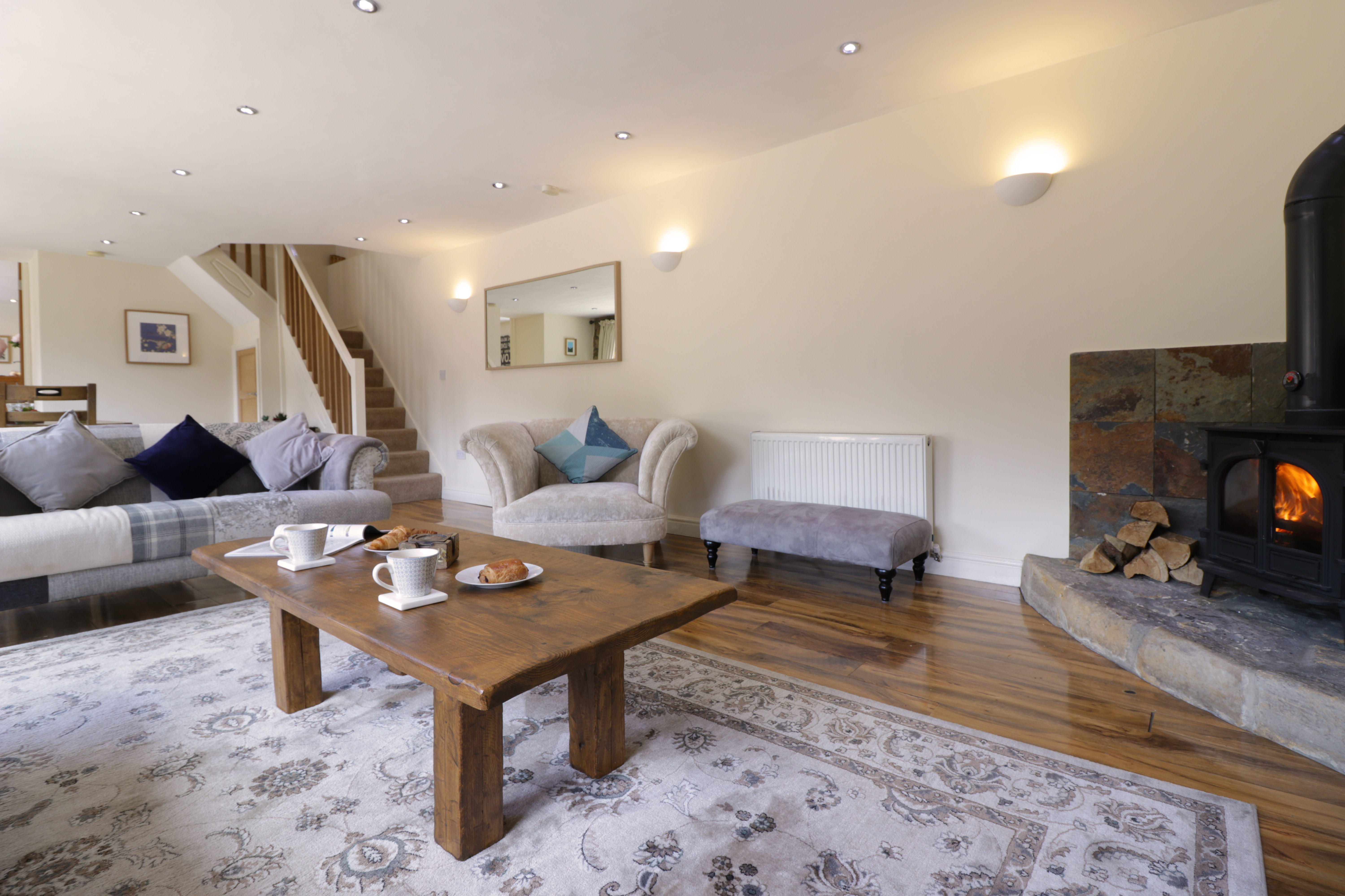 gorgeous holiday cottages in otterburn real fire cosy and romantic