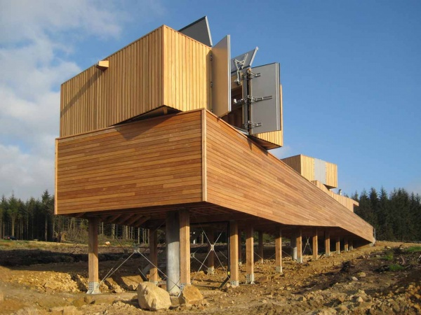 outside-kielder-observatory, visit Kielder Observatory, things to do in Kielder forest