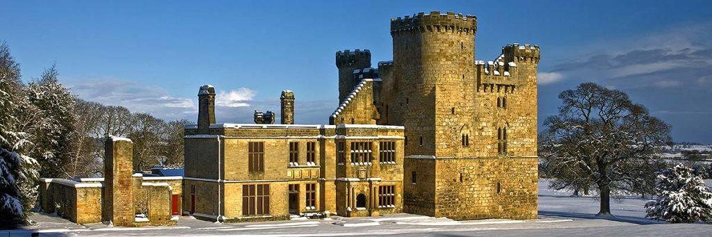Belsay Castle castles of Northumberland