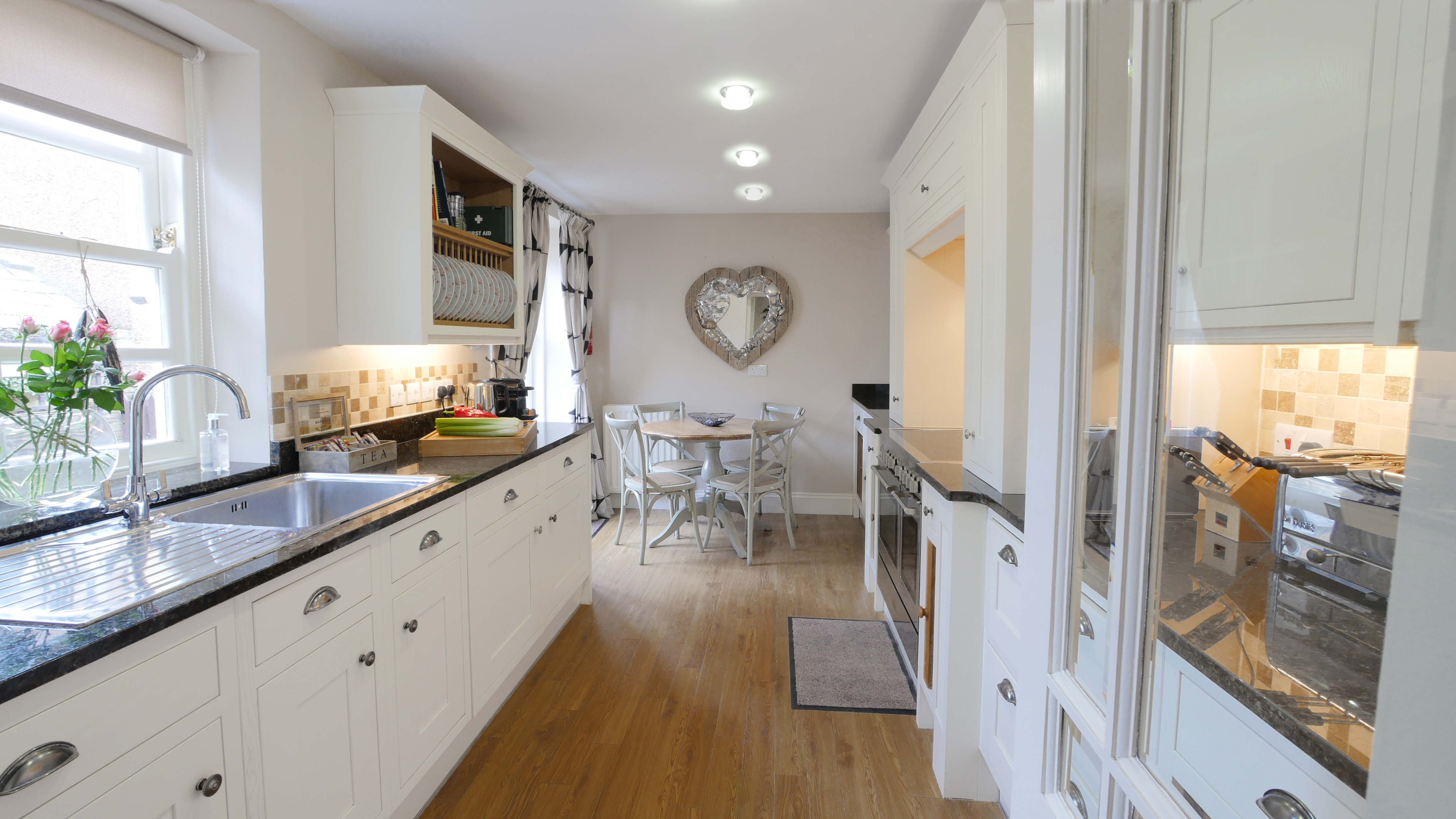 The perfect holiday cottage for New Year - Coquet View in Warkworth Northumberland