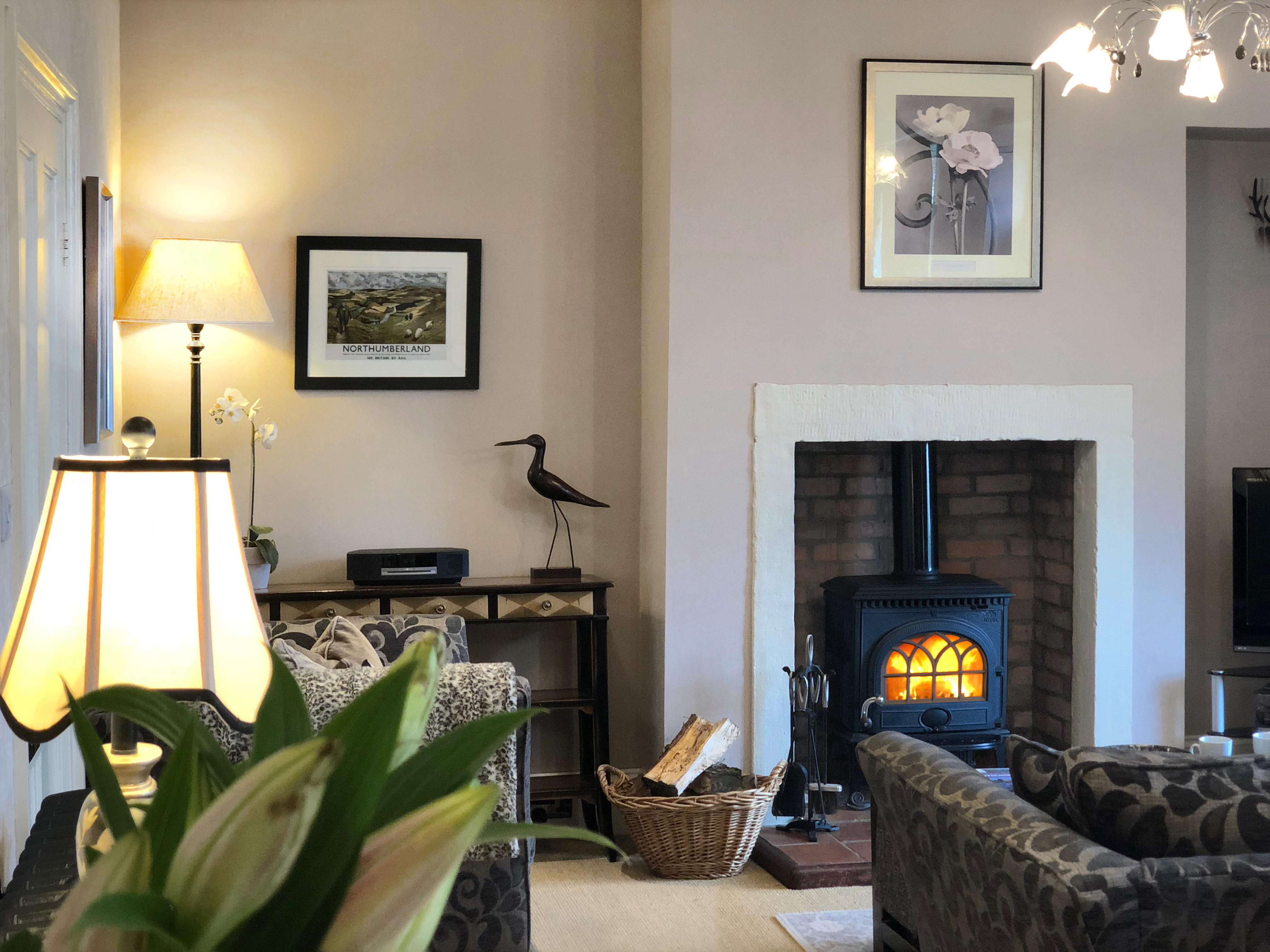 Luxury Award Winning Holiday Cottage in Warkworth Northumberland pets welcome