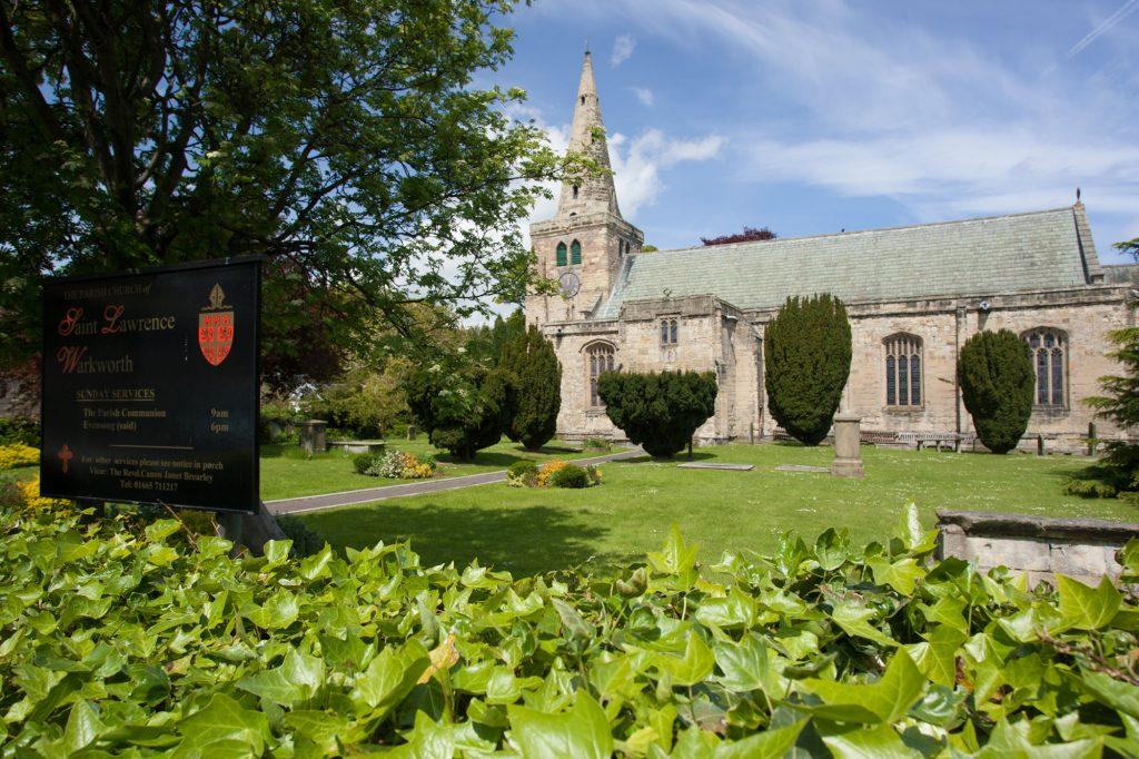 St Lawrence Church Warkworth Northumberland