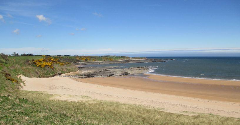 Sugar Sands beach northumberland, hidden beaches of Northumberland