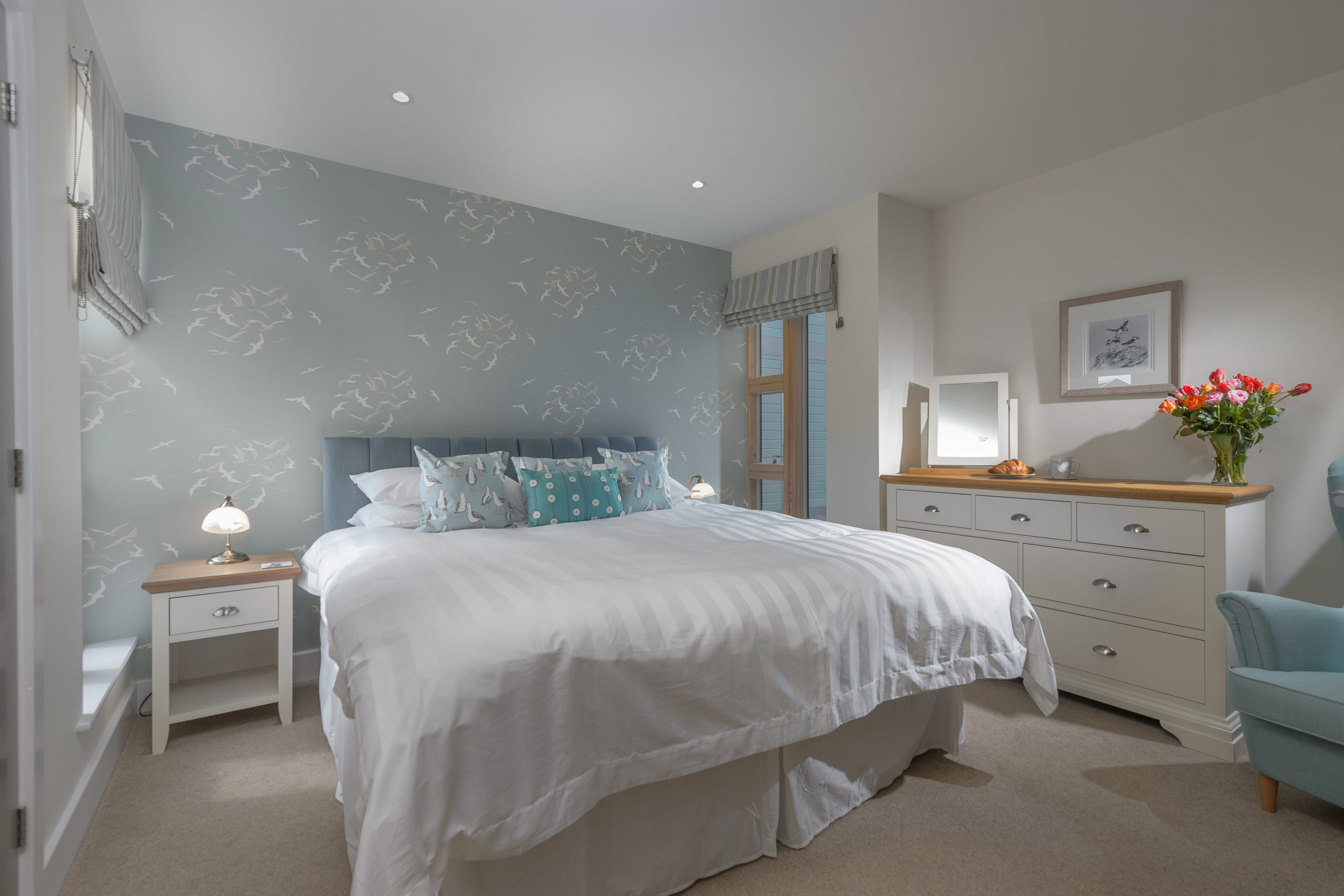 luxury apartments with a sea view in Coble Quay Amble Northumberland