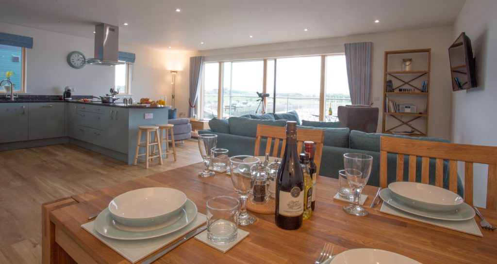 Cottages in Warkworth with sea views and pet free