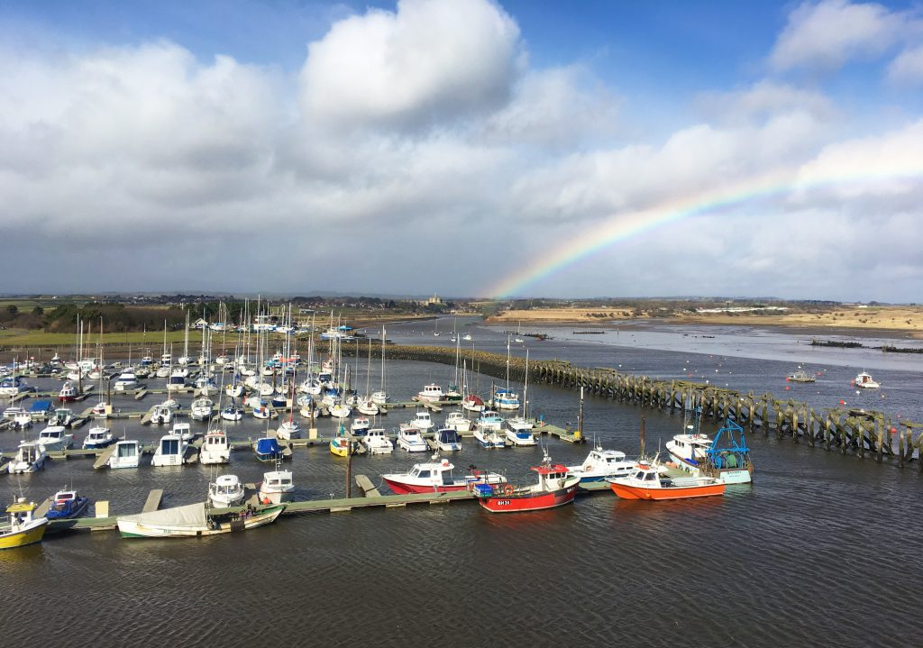 Luxury holiday accommodation with sea views in Amble Northumberland