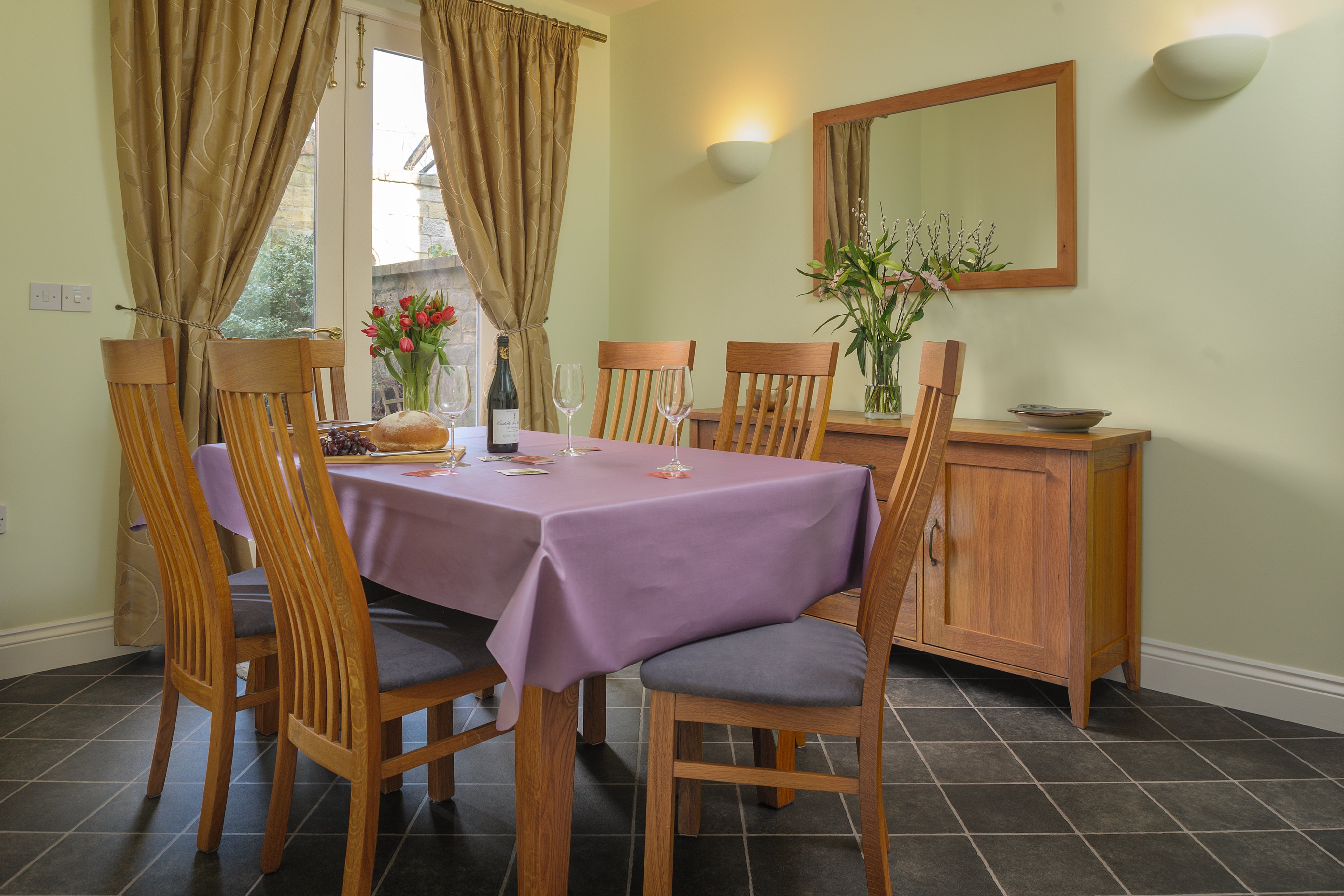 luxury holiday homes for families in Alnwick dog friendly