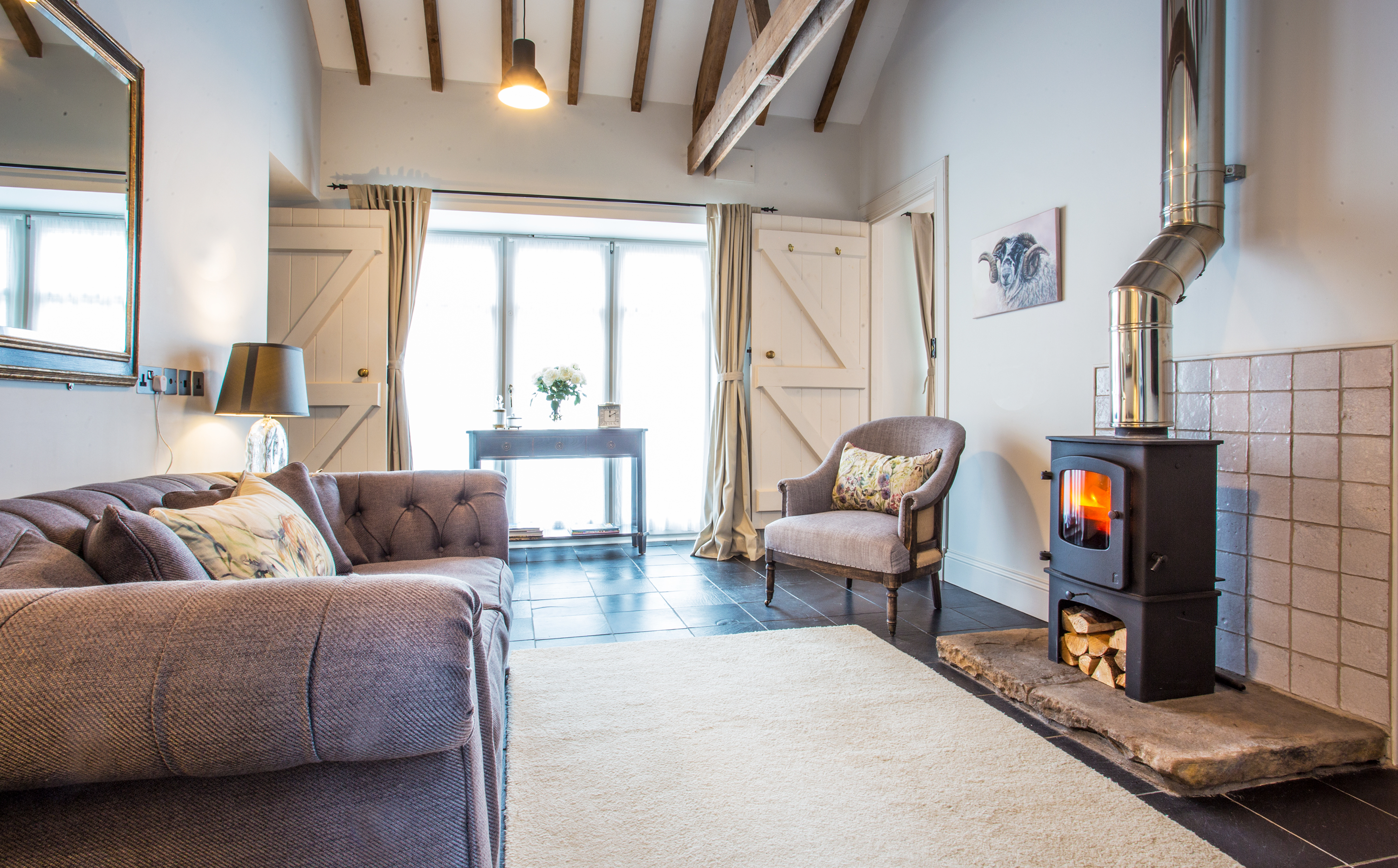 best cottages in Northumberland to stay as a couple, pet free cottages in northumberland