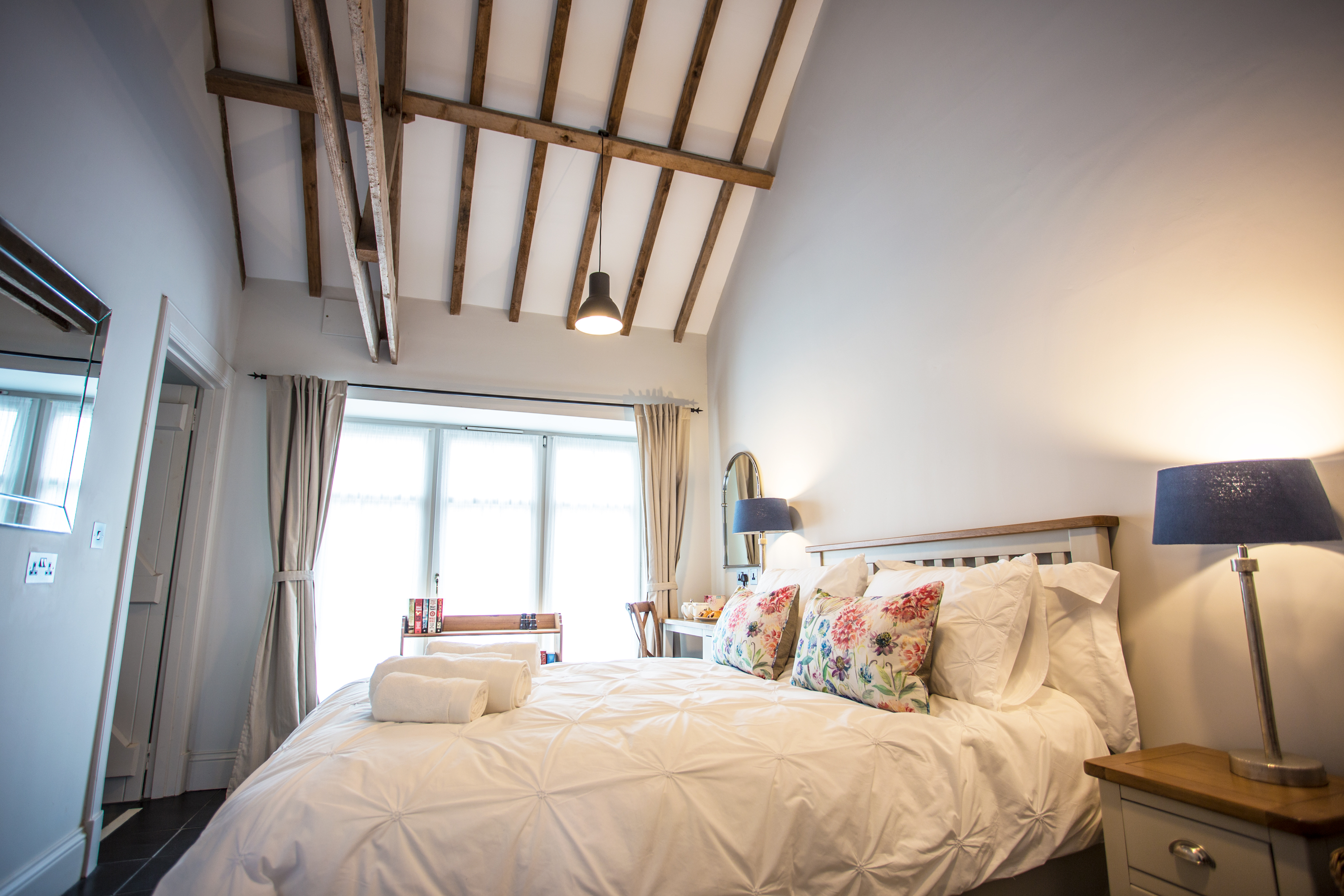 Romantic holiday cottage Holburn Mill at Lowick in Northumberland