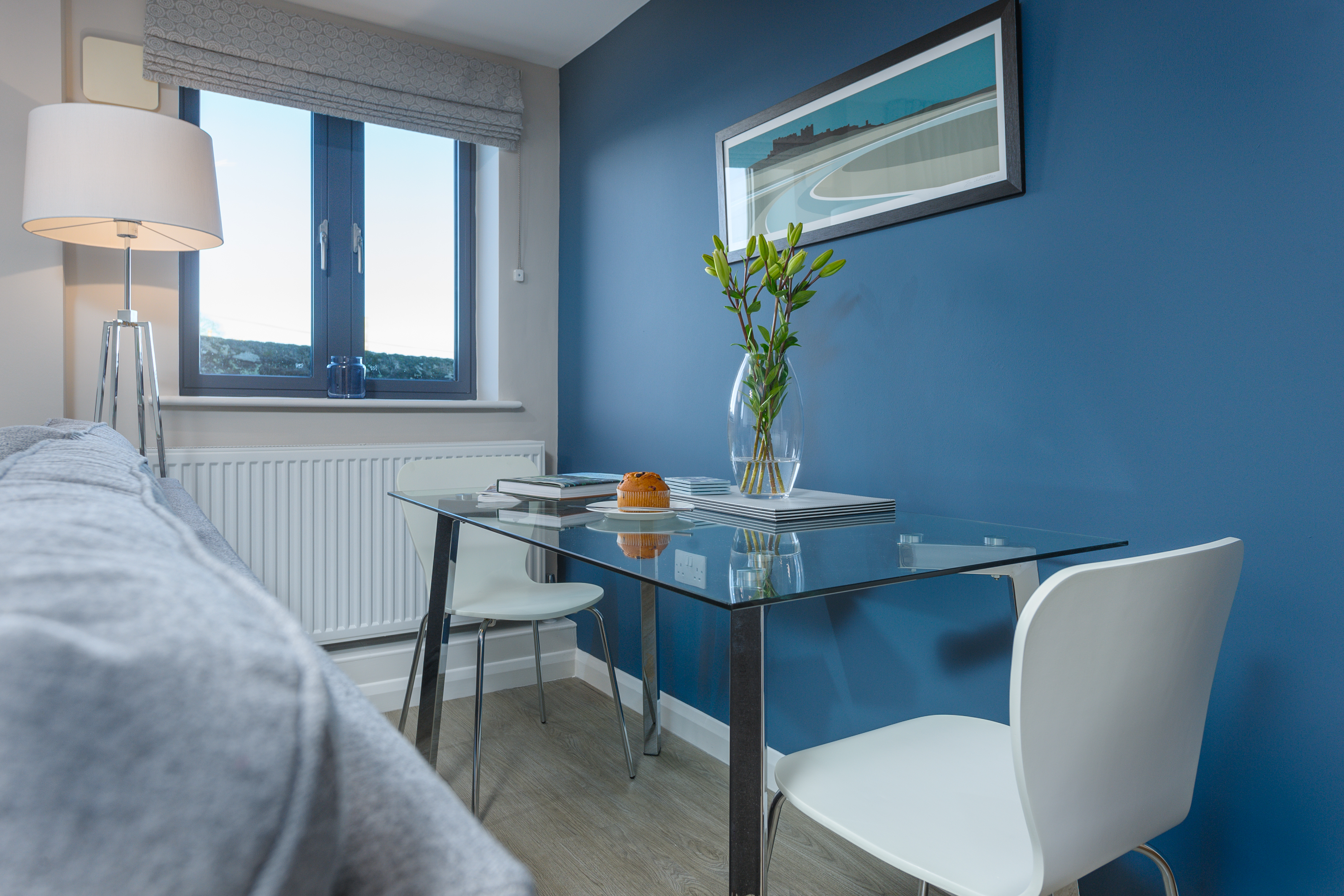 luxury holiday cottages in Alnwick boutique 5 star romantic sleeps 2 private parking Northumberland