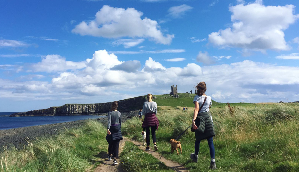 Dunstanburgh Castle walk